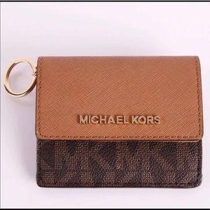 Michael kors key wallet new with tag